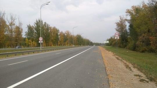 На трассе Йошкар-Ола – Зеленодольск увеличили максимальную разрешенную скорость до 100 км/ч