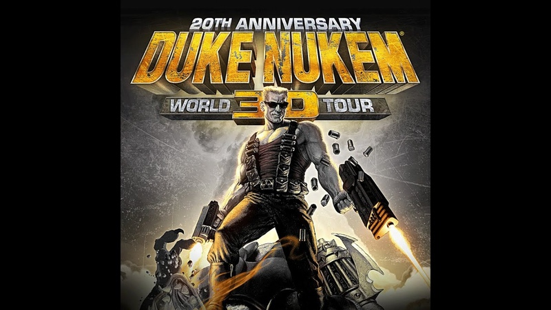 Duke Nukem 20th Anniversary World Tour E4M10 Прохождение на Выкуси