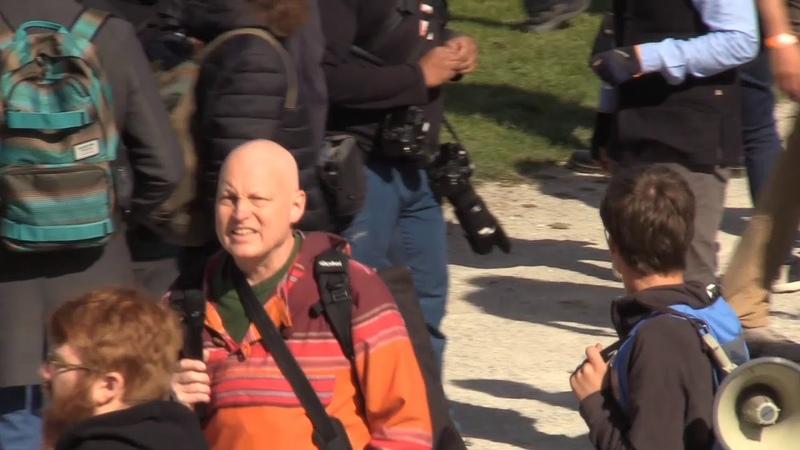 Fridays for future in München: Ordner mögen keinen Journalismus