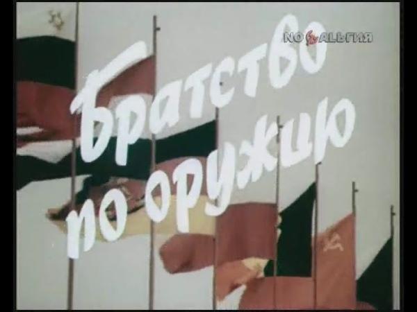 Братство по оружию 1985г Советская Пропаганда Док фильм СССР