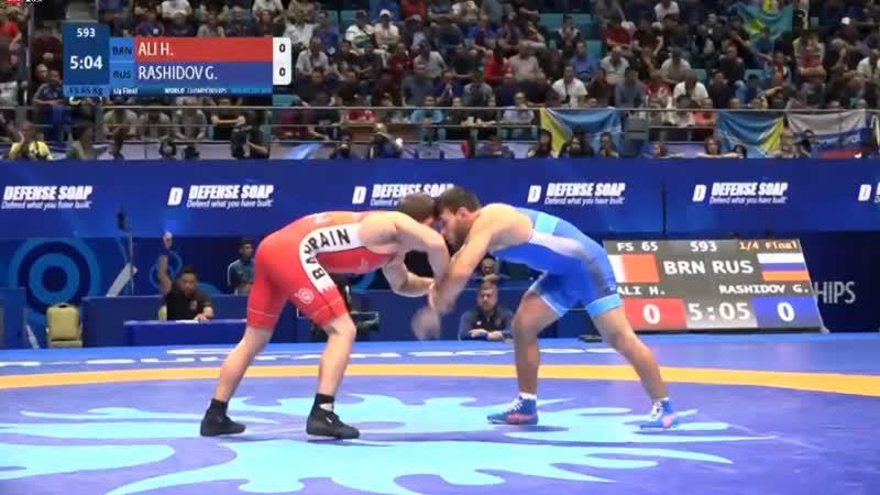 1\4. Haji Mohamad ALI (BRN) vs. Gadzhimurad RASHIDOV (RUS)