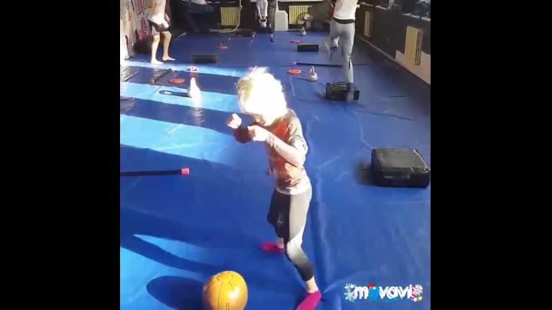 Маргарита Тюнина (6 лет). Тренировка
