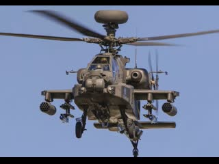 AH-64 APACHE  УДАРНЫЙ ВЕРТОЛЁТ АРМИИ США