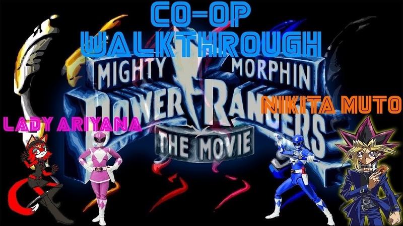 Mighty Morphin Power Rangers The Movie Sega Mega Drive Genesis Прохождение в CO OP