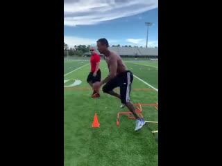 Футбольные упражнения на координацию и быструю работу ног от Нани