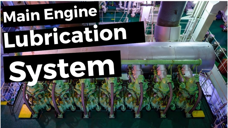 Main Engine Lubrication System marineengine lubrication lubeoil