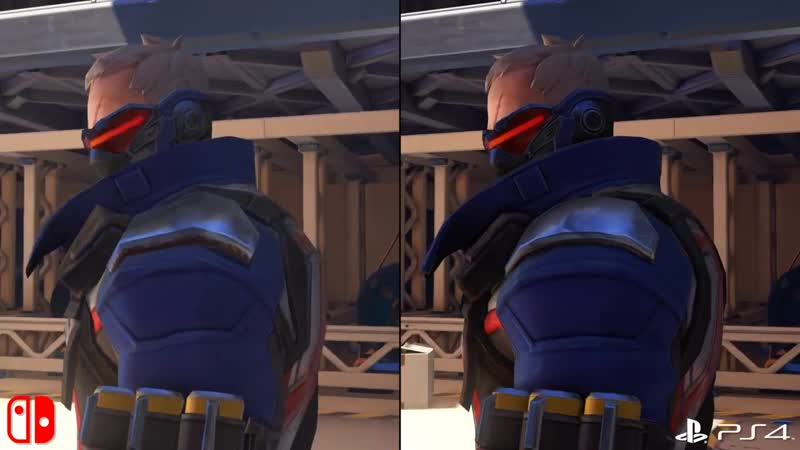 Overwatch | Switch vs PS4-Xbox сравнение Digital Foundry