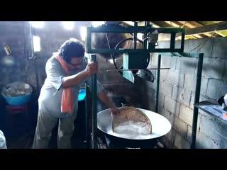 Рисовая лапша - как делают в Таиланде