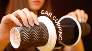 Extremely Tingly  Ear Cupping Triggers (No Talking)