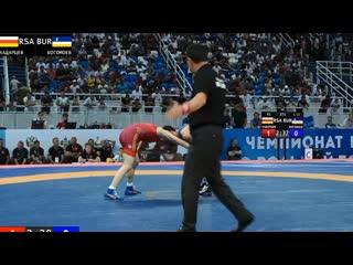 ЧР - 2019. 61 кг. 116. Александр Богомоев - Алик Хадарцев
