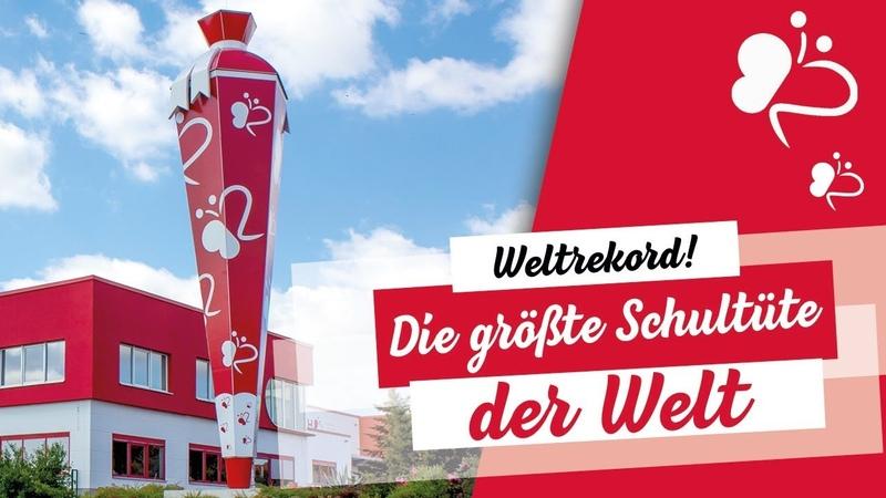 WELTREKORD: Die größte Schultüte der Welt | So entsteht die höchste Zuckertüte | Roth GmbH