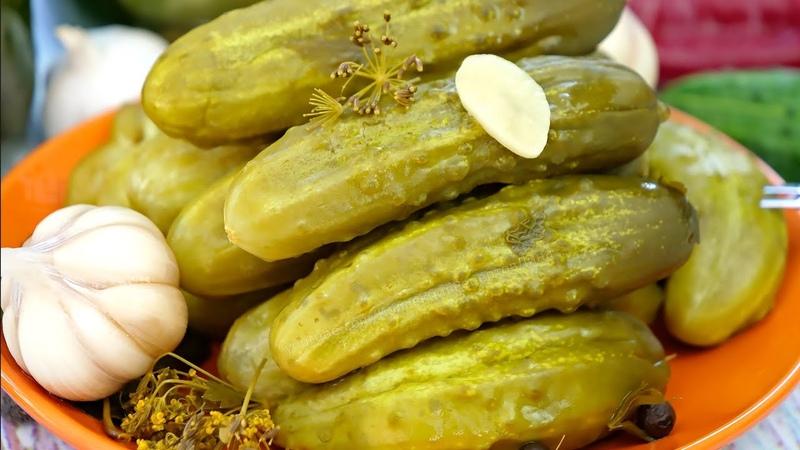Соленые квашеные огурцы на зиму как из бочки 2 способа приготовления и хранения