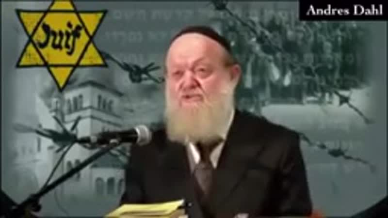 Jewish Rabi tells the truth about Hitler