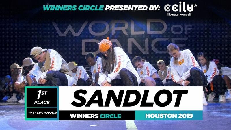 SANDLOT 1st Place Jr Team Winner Circle World of Dance Houston 2019 WODHTOWN