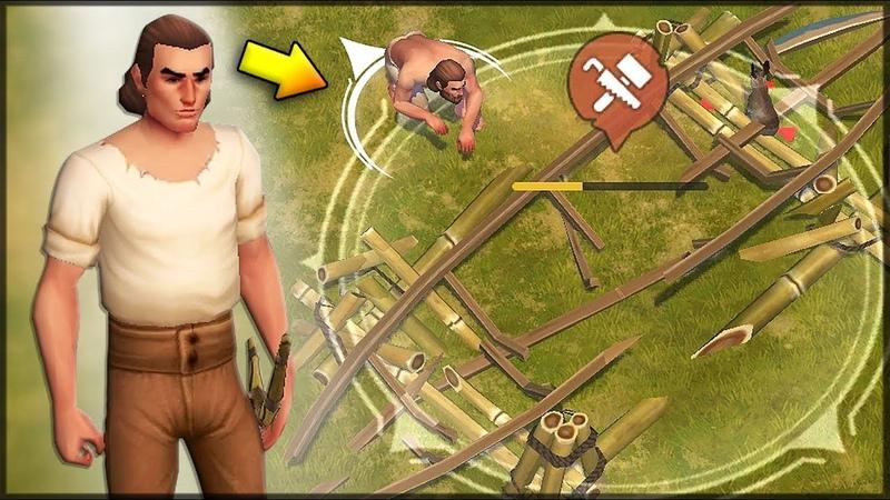 МОЙ НОВЫЙ ОСТРОВ Пиратское выживание на острове RPG ОБЗОР ИГРЫ Mutiny a Pirate Survival RPG