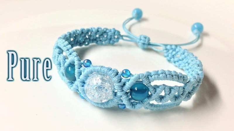 Macrame tutorial the Pure spirit bracelet Hướng dẫn tự thắt vòng tay thủ công cực dễ dàng