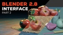 Blender 2 8 Beginner Tutorial Part 2 Interface Navigation