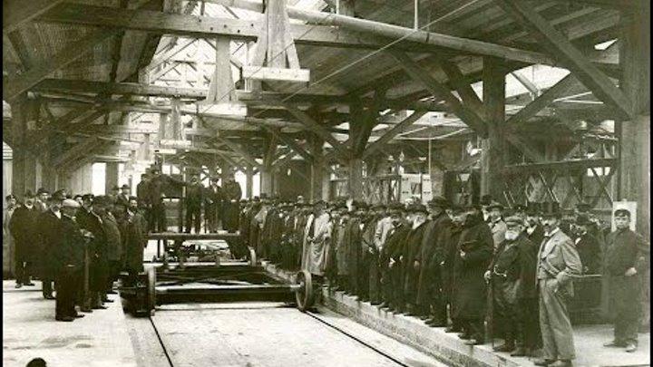 Construction of a Glass Factory near St Petersburg - 1904