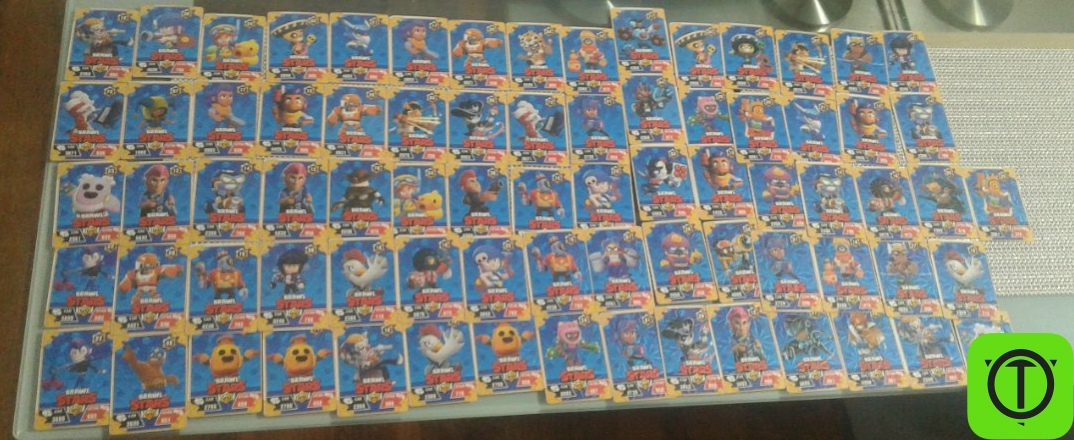 #Другое Вся коллекция карт Brawl Stars. У того,