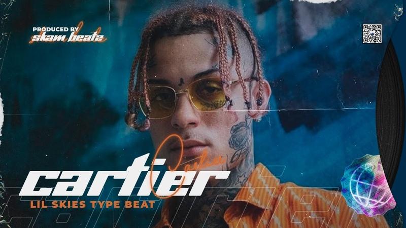 Lil Skies Type Beat - Cartier Trap Beat   Instrumental 2020