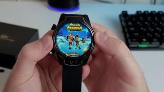 Смарт часы Rogbid Brave, 4G, LTE, экран 1,69 дюйма, 3 ГБ + 32 ГБ, 450 мАч, двойная камера 8 Мп + 8 М