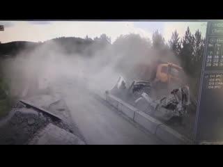Жуткая авария в Челябинской области