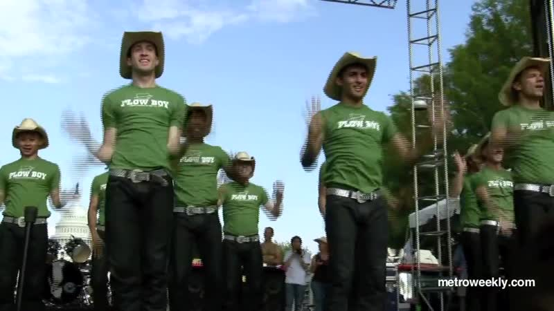 The DC Cowboys at the 2010 Capital Pride_ Cowboy Up