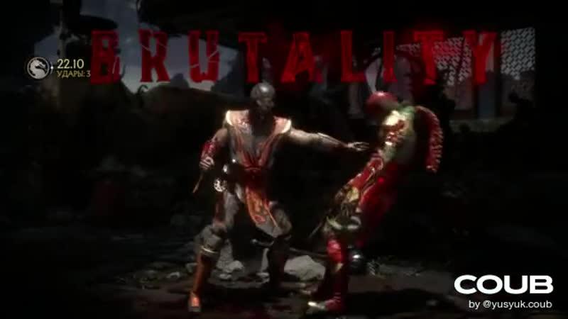 YusyuchyCube 🐲 Mortal Kombat 11. Scorpion VS Raiden (🎵 Hollow Front - Backbone)