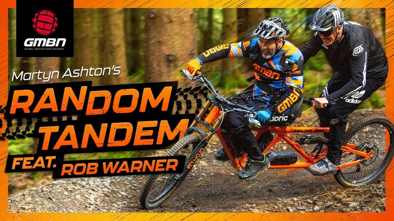 Mountain Biking Legend Rob Warner | Martyn Ashton's Random Tandem Ep. 1