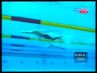 Freestyle swimming - 2004 olympics