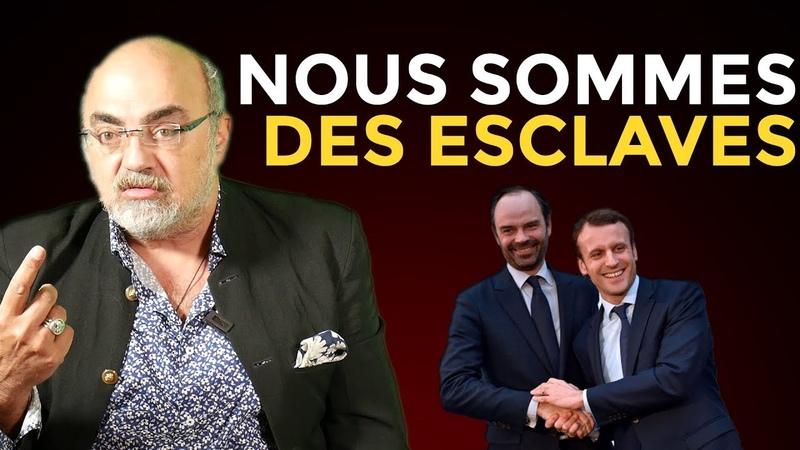 GILETS JAUNES MACRON et la Mise en Esclavage des Français