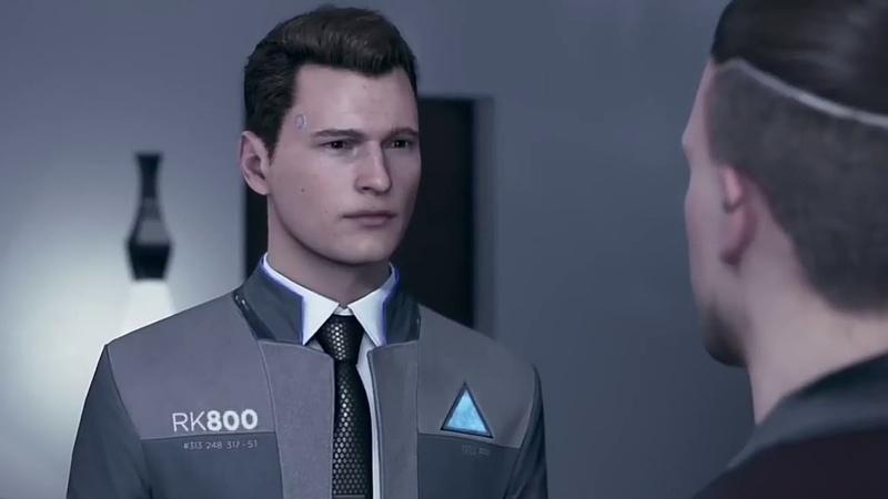 Detroit:Become Human Connor :3 (Коннор)