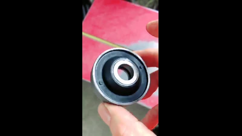 Land rover range rover L322 airmatic suspension repair kit rubber bushing rubber mount for air spring fix kit.mp4