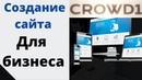 Создам сайт для вашего бизнеса Crowd1 Александр Кацюк