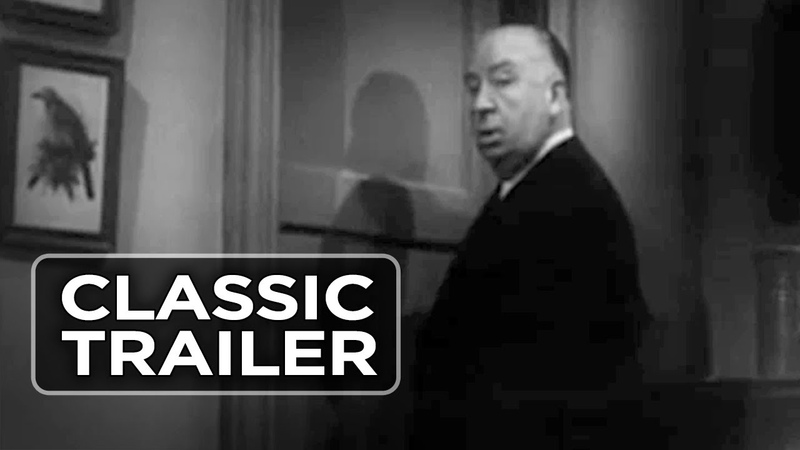 Psycho 1960 Theatrical Trailer Alfred Hitchcock Movie