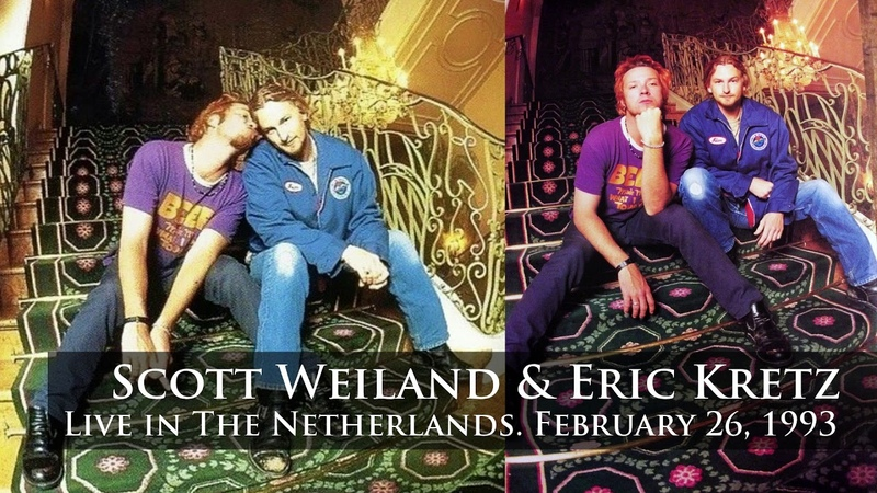 Scott Weiland Eric Kretz Creep 2 Meter Sessies Countdown Cafe 1993