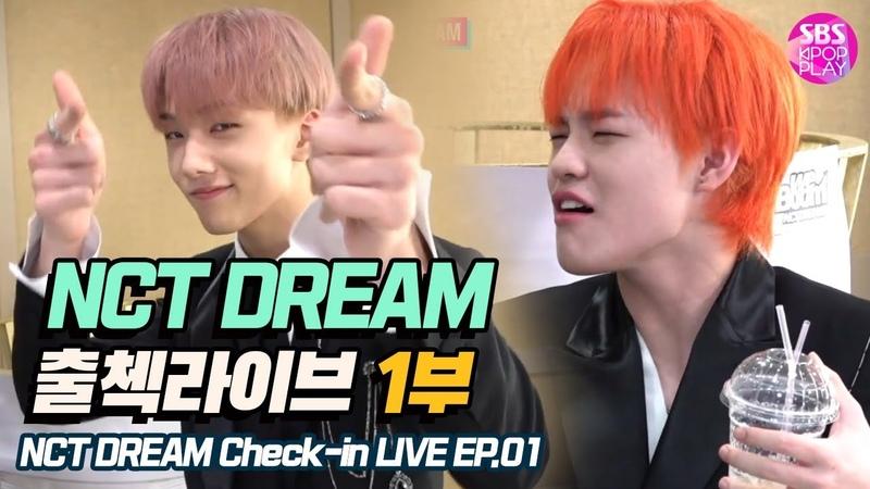 (ENG/KOR) [EP01] 엔시티 드림 인기가요 출첵라이브 1부 (NCT DREAM Inkigayo Check-in LIVE) 역대급매력발산개인기몸으로말해요식혜복불복
