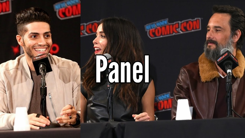 Mena Massoud, Abigail Spencer, Rodrigo Santoro Reprisal Panel (NYCC 2019)
