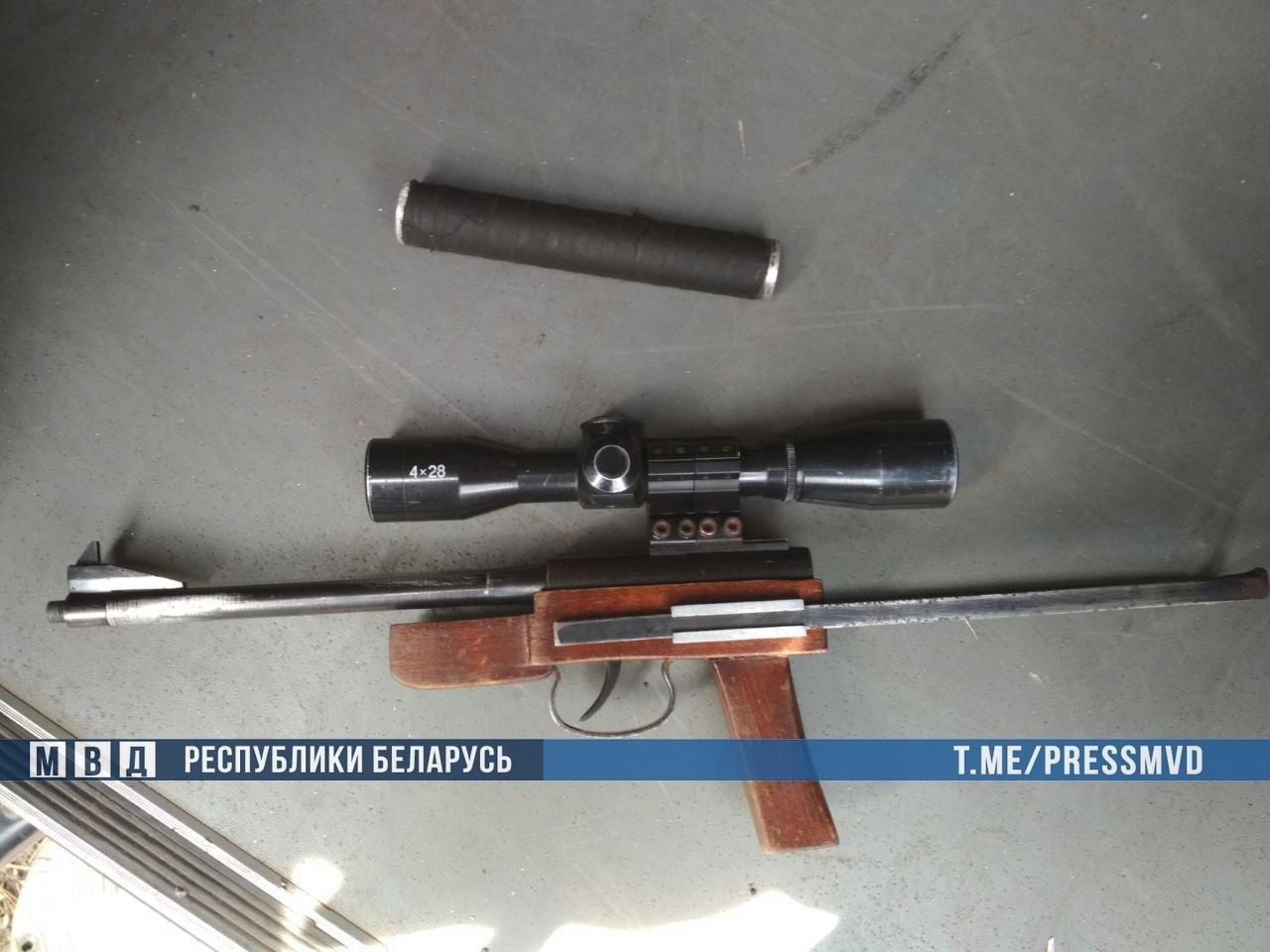 Продавцов самодельного оружия и патронов задержали в Пружанском районе