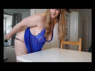 Муж трахнул толстую жену на столе, sex home film video porn fat bbw big tit boob milf wife cum (инцест со зрелыми мамочками 18+)