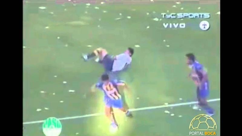 La vuelta de Riquelme a la Bombonera - Boca 1 Vs. Rosario Central 1 Fecha 2 Torneo Clausura 2007