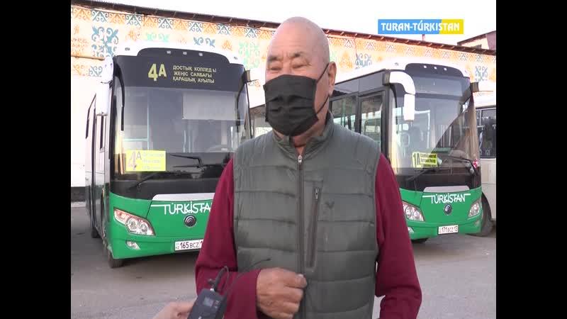 ТұранТүркістан Бірінші айт күні маршруттар тегін жүреді