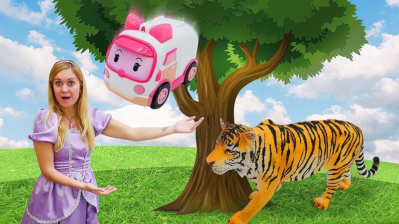 Princesa Sofia ajuda os Robocars Conto de fadas da Princesa Sofia para meninas