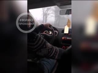 Таксист высадил неадекватную москвичку на трассе Белгород