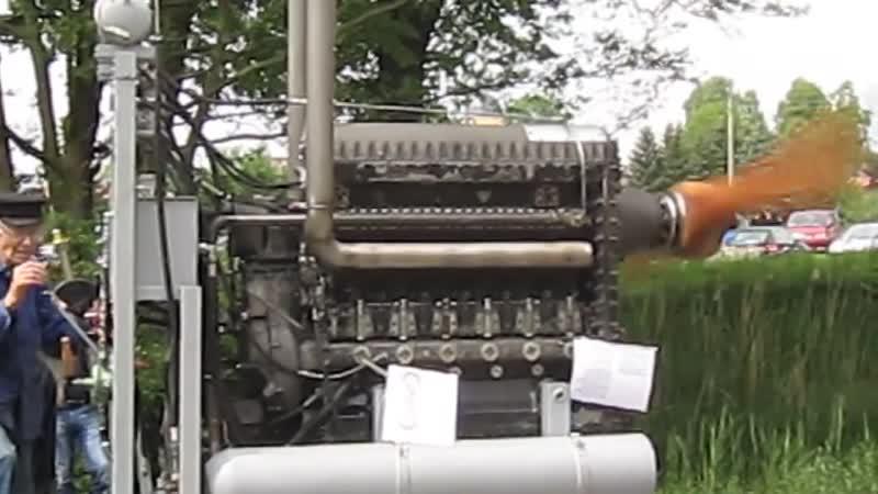 Junkers JUMO 205C Engine start