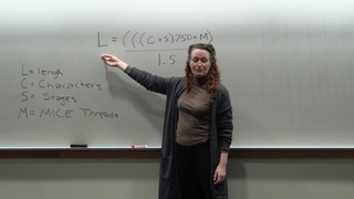 Lecture #7: Short Stories — With Special Guest Instructor Mary Robinette Kowal