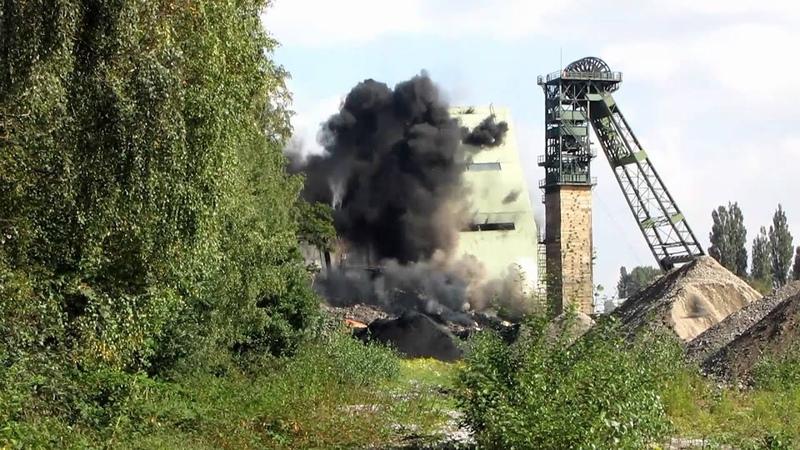 Sprengung Kohlenwäsche Dorsten 29 09 2010