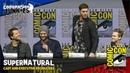 Supernatural's Jared Padalecki Jensen Ackles Misha Collins Alexander Calvert SDCC 2019 Full Panel
