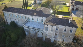 Aerial Movie - Castel Illustration by Drone - Lot - France