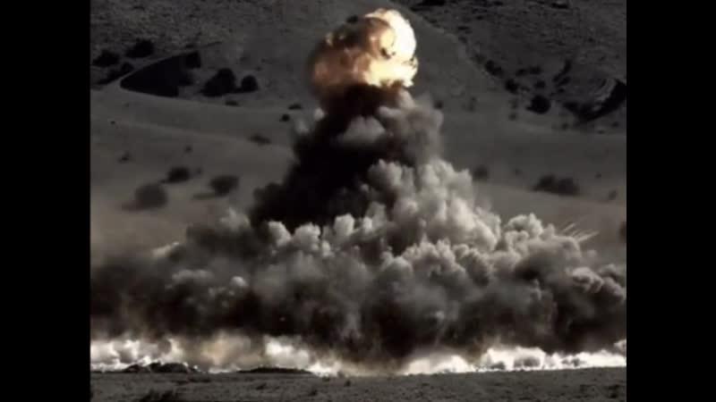 взрыв бомбы взрывная волна